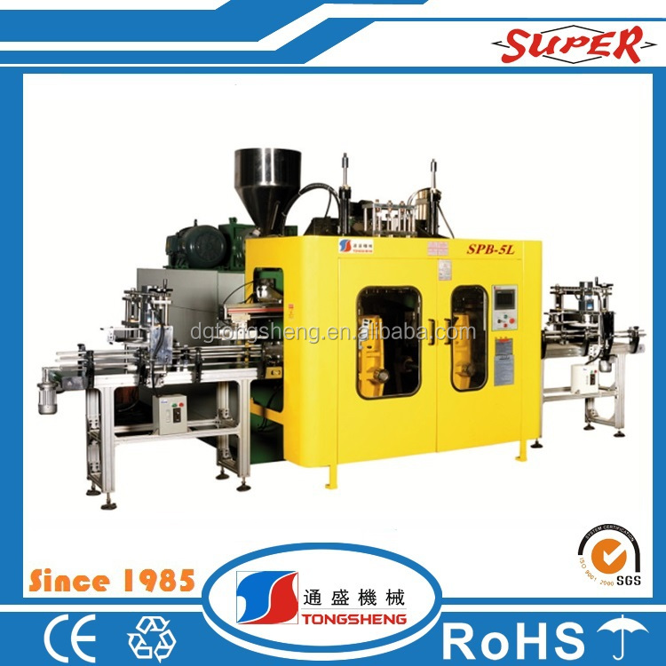 Tongsheng Supplier plastic blow molding machine unit