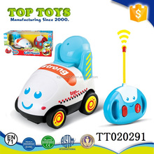 Kids mini music car remote control Engineering vehicle