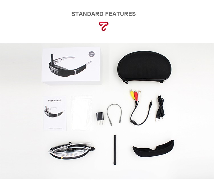360 Viewing Immersive Virtual Reality 3d glasses