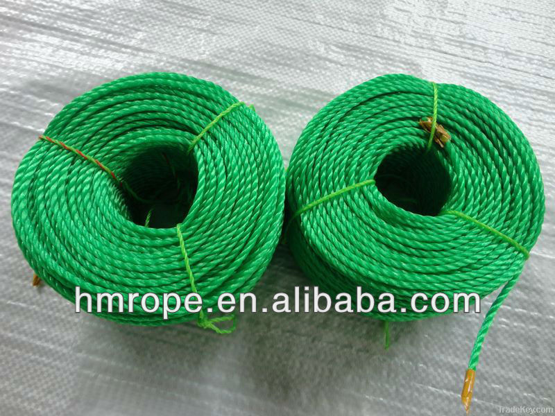 packing rope/pp 3 strands twisted rope/pp rope