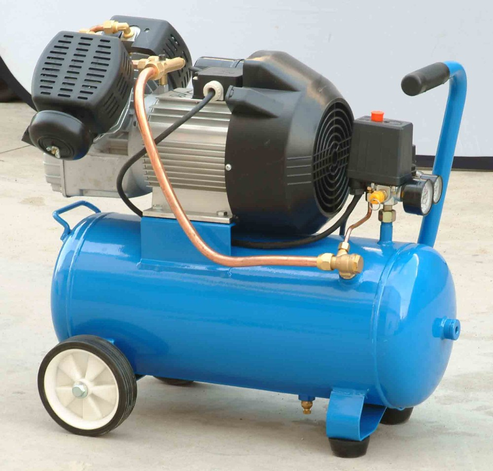 3HP 24L V type small portable air compressor