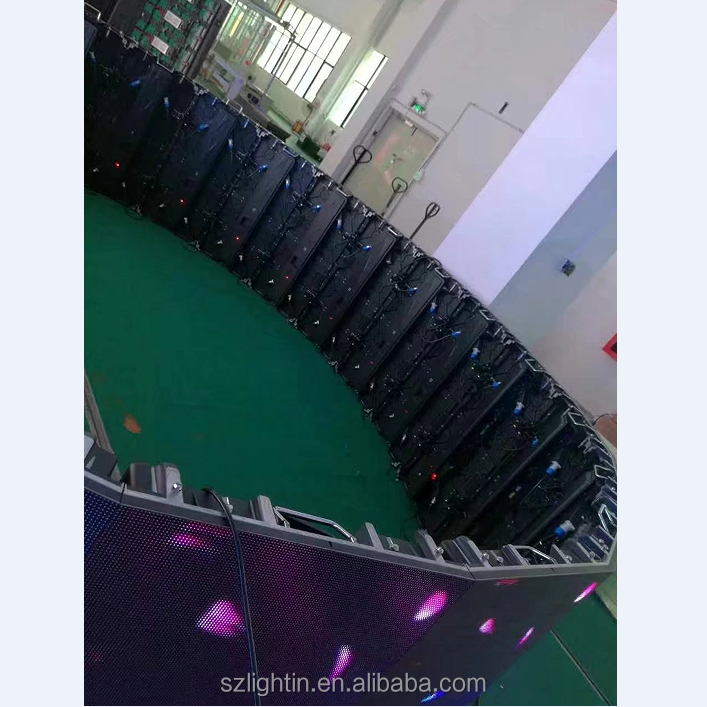 programmable led sign led billboard price 500*1000mm p3.91 curved led sign cabinet