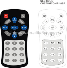 smart high quality led lamp universal remote control