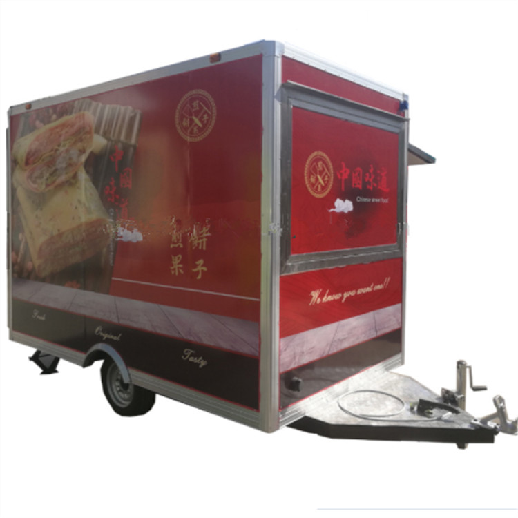 customized design food truck trailer