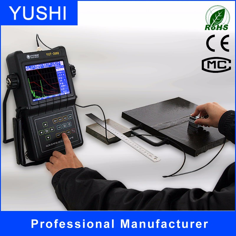 YUT2600 ultrasonic flaw detector for ultrasonic weld testing and ultrasonic examination