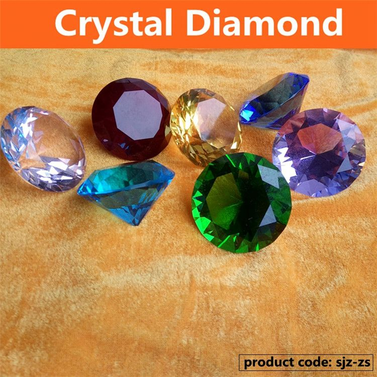 New product simple design pointback Diamond crystal for wholesale