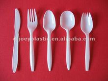 disposable cheap plastic cutlery pp medium weight plastic cutlery