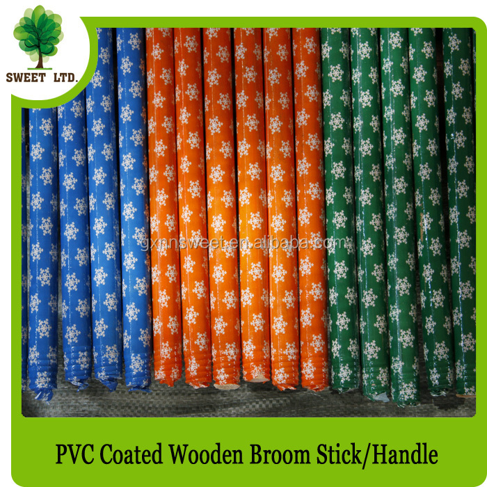 coconut brooms wood broom stick