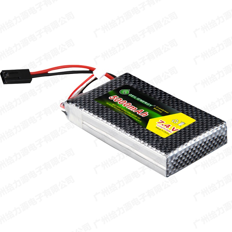 Wholesale Drone Li-po Battery Pack 7.4v 5000mah 45C MSDS Approved