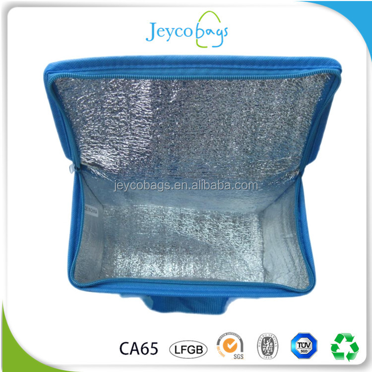 JEYCO BAGS Wholesale cheap aluminium foil 6 pack cooler bag murah