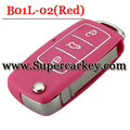 B01L-02 3 Button Remote Key with Red colour for URG200/KD900/KD200