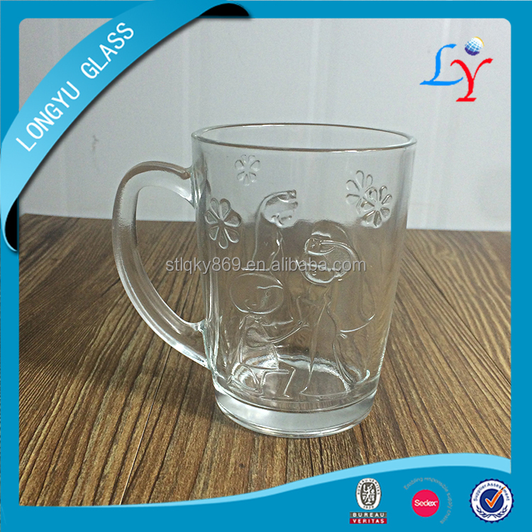 12oz nescafe coffee glass wholesale coffee cups promotional glass coffee cup