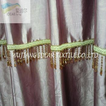 Blackout Embossed satin for Curtain