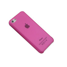 0.3mm ultrathin matte phone case for iPhone 5C PP material