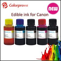 Edible Ink for Canon 750 550 450 350 250 150 refillable ink cartridges edible Ink for canon ip 7240