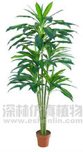 man-made garden plants for sale,green slim decorative plant