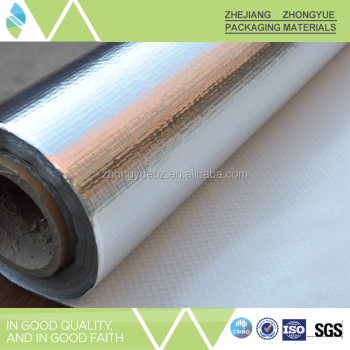 Single sides VMPET Laminated Woven Fabric for Insulation