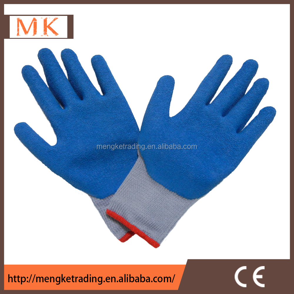 latex palm coated glove work