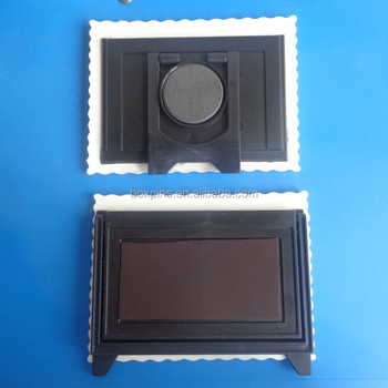 promotional gifts 3D rubber picture photo frame on desk