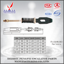 elevator stainless steel wire rope fastening with Babbitt metal