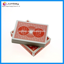 New product 57*87mm pvc poker