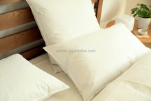 Wholesale cheap Protable duck/goose down filled pillow for household and hotel