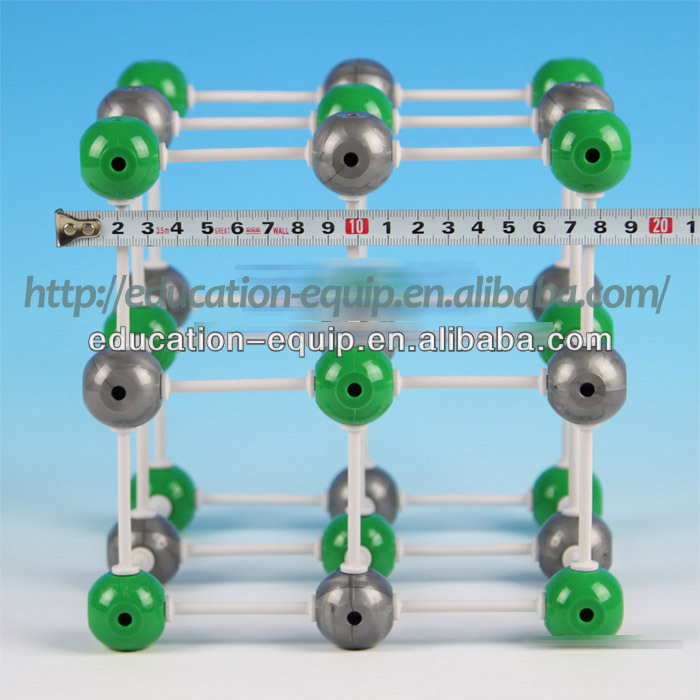 SE52042 Big Size Sodium Chloride Chemistry Teaching Aids Atomic Model Set