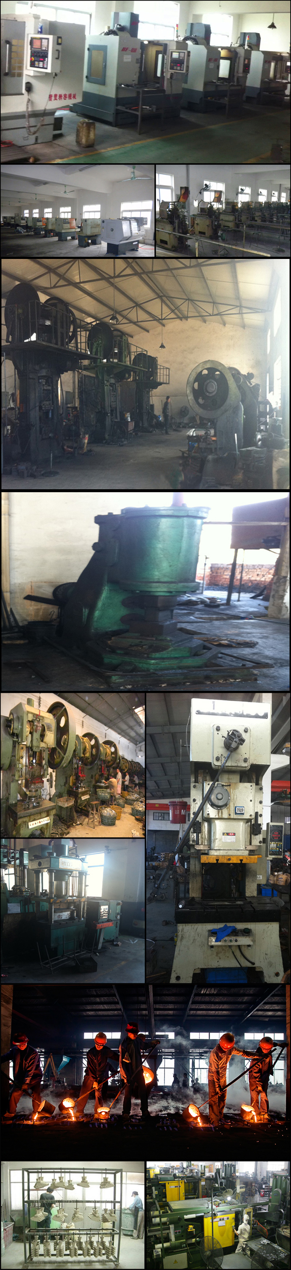 Ningbo High Precision drop forged steel For closed die forgings With ISO9001:2008