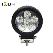 Factory Price Black Car AUTO Offroad Parts Portable 12v Super Bright Waterproof 18w led work light