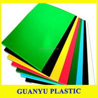 2017Green Polypropylene Danpla Sheets/Plastic Corrugated Corriboard Board