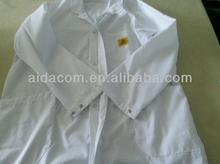 sales promotion Cleanroom TC cotton ESD smock