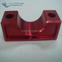 OEM ISO custom 5 axis milling parts with clear anodizing finish cnc aluminum prototype brass machining
