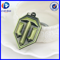 Keychain Medal World of Tanks Wars Style Key chain ring