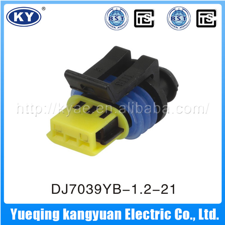 Cheap And Good Quality 3 Pin Male And Female Connector