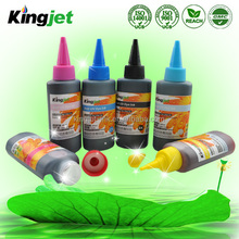 High saturation with vivid color desktop anti-UV inkjet ink