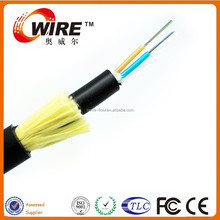 Owire Power Optical Fiber Cable Single Mode Adss 24, 48, 72 , 96 ,144 Core Fiber Cable