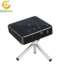 Goshine 2018 Best Selling RK3328 Android 7.1 Mini Projector C9 2G/16G DDR3 Battery Powered C9 Mini Projector