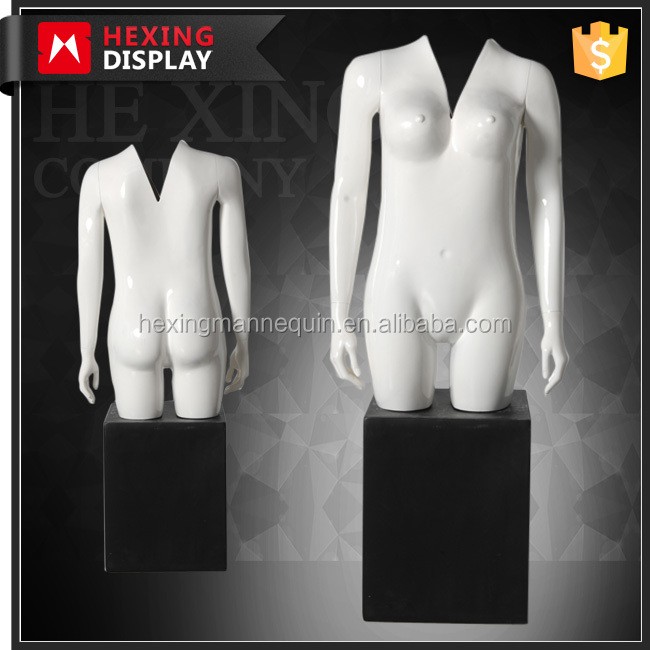 female v neck cut invisible ghost mannequin on sale
