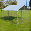 Galvanized Outdoor Dog Kennel
