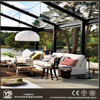 Summer Houses Aluminum Glass Sunroom Rooms in the Garden