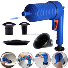 Air Drain Blaster Pressure Pump Cleaner Unclogs Toilet