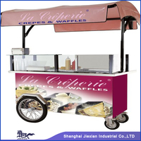 JX-CR200 Professional Factory Manufacturing Customized Outdoor mobile Commercial Food stall