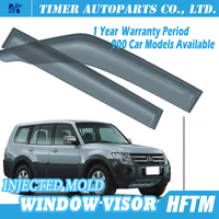plastic car window shields window visor For Mitsubishi Pajero V97 07