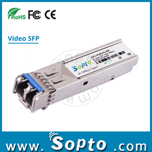 Optical Transceiver 3G Video Dual Rx SFP, PIN photodetector LC 40km 3G Video SFP Module