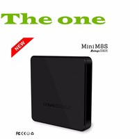 HOT new arrival android 5.1 quad core mini m8s tv box in hot selling market