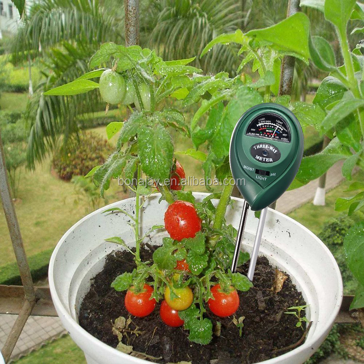 Soil Water Moisture humidity meter PH Tester for Garden Plant Flower 3 in 1