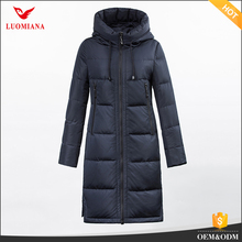 casual down jacket Korean style fashion first down coats with adjustable hood string down coat