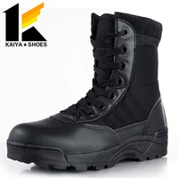 high quality high heel ankle boots for army
