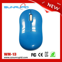 Wholesale price cheapest 2.4ghz wireless mouse with micro-receiver, optical tracking method