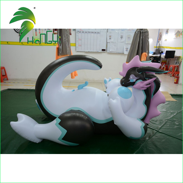 Sexy Cartoon Design Inflatable Dragon With SPH and Penis